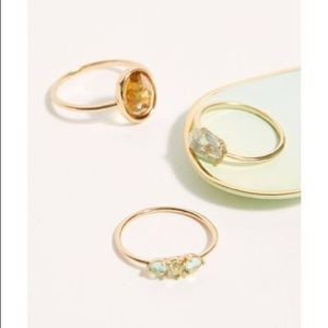 Free People Love Story Ring Set